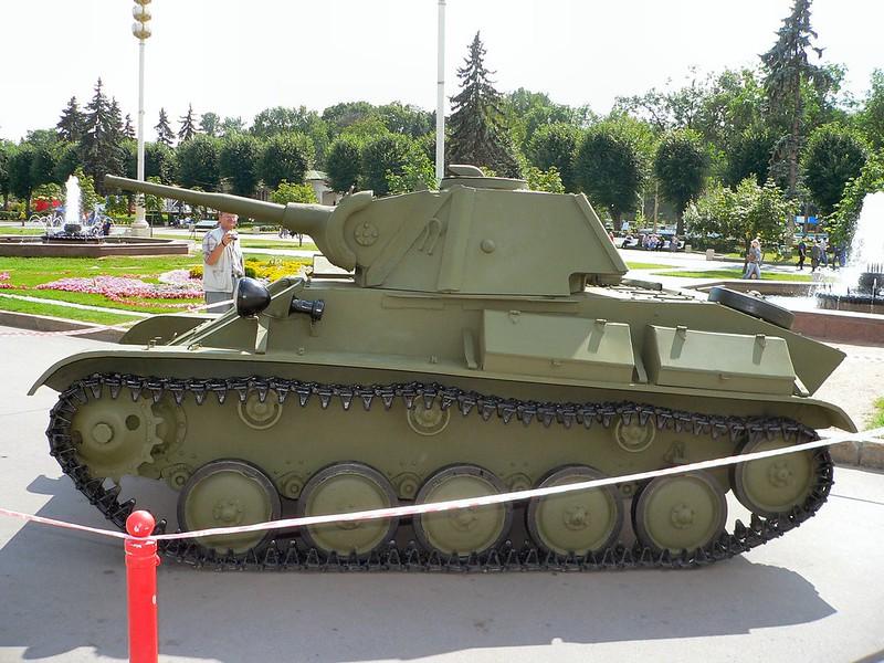 T-70 Light Tank 3