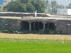 Fortifications at the base of Krishnagiri Hill