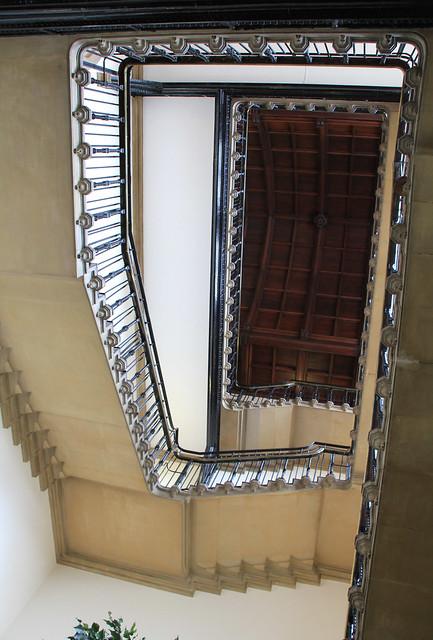 Kelham Hall staircase