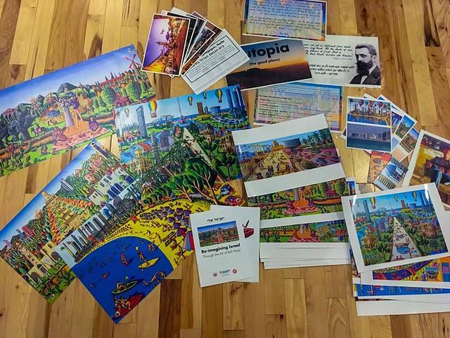 ערכה ליצירה למורות לאמנות לבתי ספר גנים לתלמידים הפעלה האמנותית בליווי כרטיסיות משחקים תמונות ויצירה ברק סלע  רפי פרץ