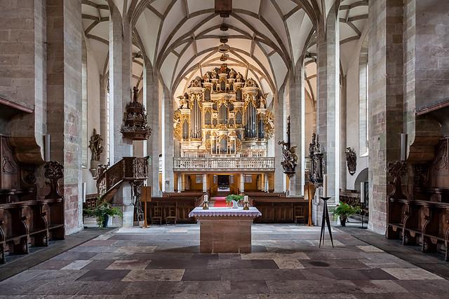 Ladegast Orgel im merseburger Dom