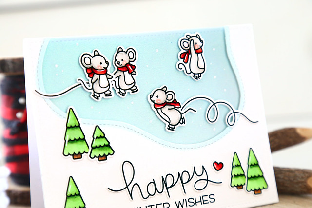 Mice on ice (Lawn Fawn inspiration week)