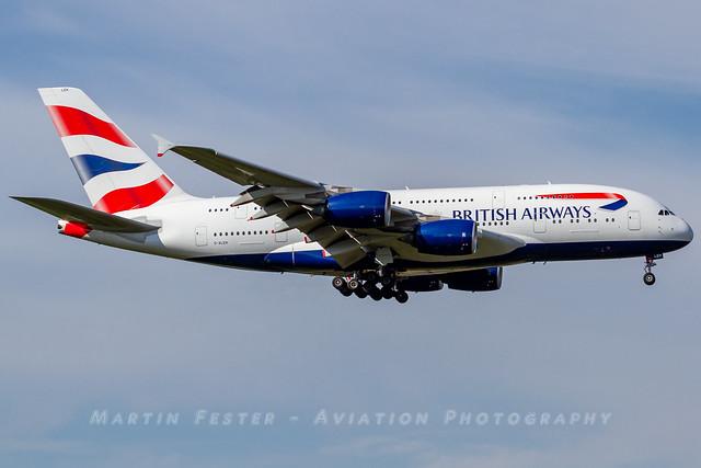G-XLEH // British Airways // A380-841