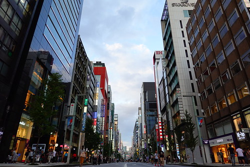 Ginza Street Vivid
