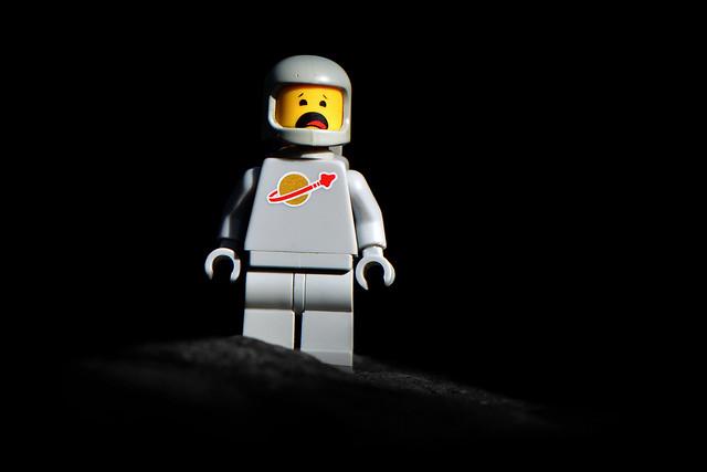 LEGO Grey Spaceman