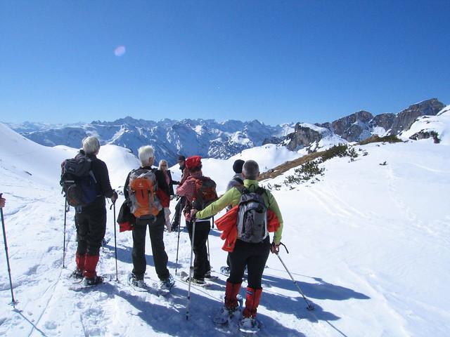 Karwendel sneeuwschoenwandelen