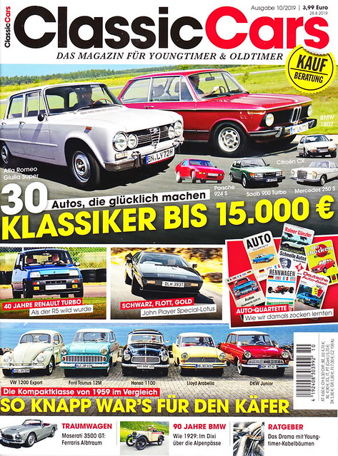 Auto Zeitung - Classic Cars 10/2019