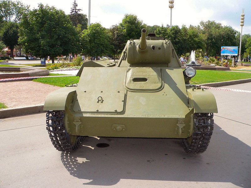 T-70 Lehkých Tanků 1