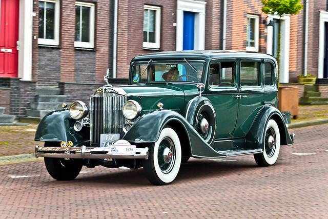 Packard 1100 Sedan 1934 (8284)