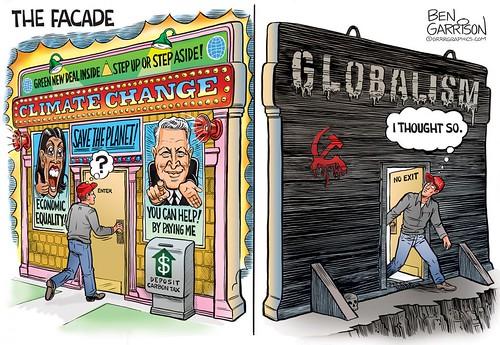 Climate Change Facade Al Gore