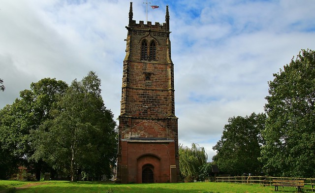 Leaning Tower of St. Chads Church