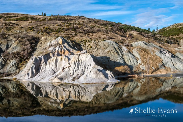 The Blue Lake, St Bathans, Central Otago