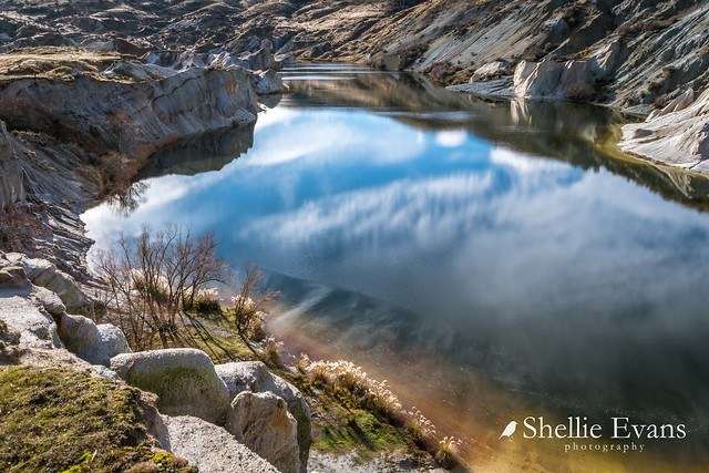 The Blue Lake, St Bathans, Central Otago
