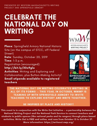 WMWP Writing Marathon Flier