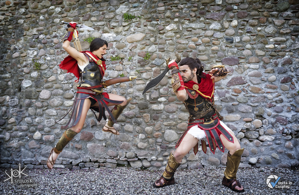 Volta In Cosplay 2019 Lucia Sky As Kassandra From Assass Flickr