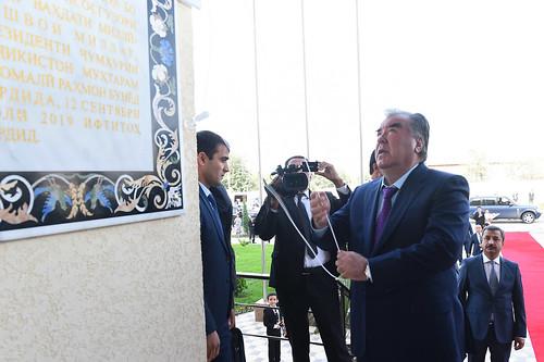 Ба истифода додани бинои Кумитаи идораи замини ноҳияи Данғара   12.09.2019