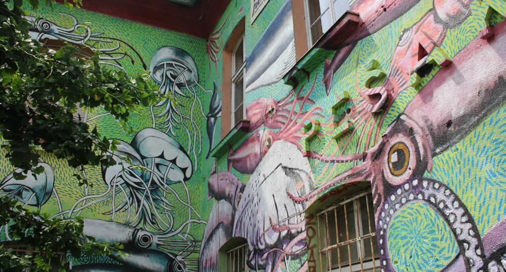 Graffiti, Ljubljana | Mooistestedentrips.nl