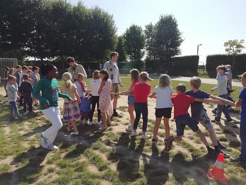 Spelletjesnamiddag met de scouts
