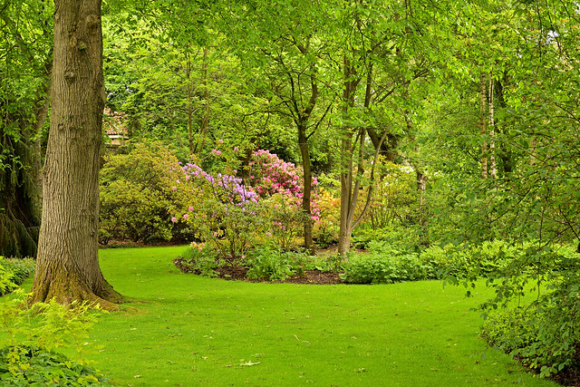Edinburgh / Palace of Holyroodhouse / Royal Private Garden / A little paradise