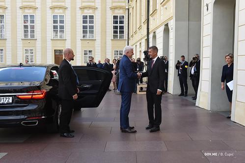 Duško Marković - Samit premijera Višegradske grupe i država ZB, Prag