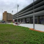 New grassland at Preston Bus Station