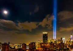 Towers of Light 9/11 Tribute 2019