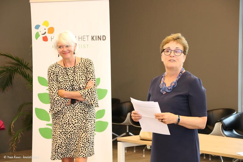 Partners tekenen charter Huis van het Kind in Knokke Heist
