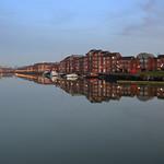 Mirror like Preston Docks