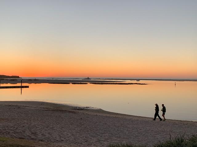 Sunset stroll in Kalbarri