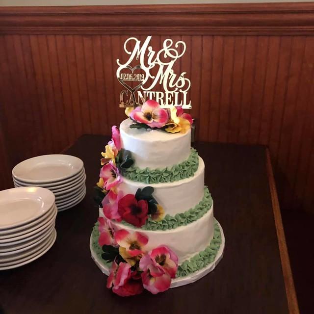 Cake by Pat's Custom Cookies & Desserts