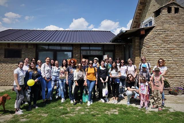 Podeli svoje znanje, Studijska poseta Bačkom Monoštoru, 25. maj 2019.