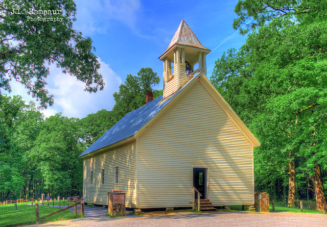 Cades Cove Primitive Baptist Church - Great Smoky Mountains National Park
