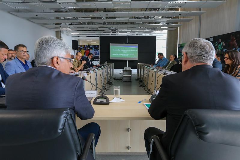 50ª Reunião Ordinária do Conselho Nacional do Esporte (CNE)