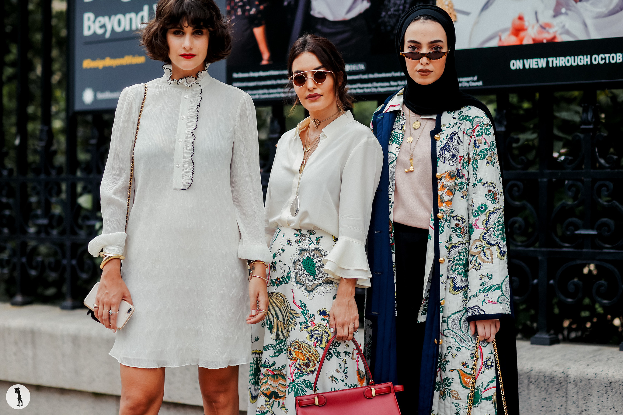 Nour Arida, Karen Wazen Bakhazi and Leena Al Ghouti - New York Fashion Week SS19 (1)