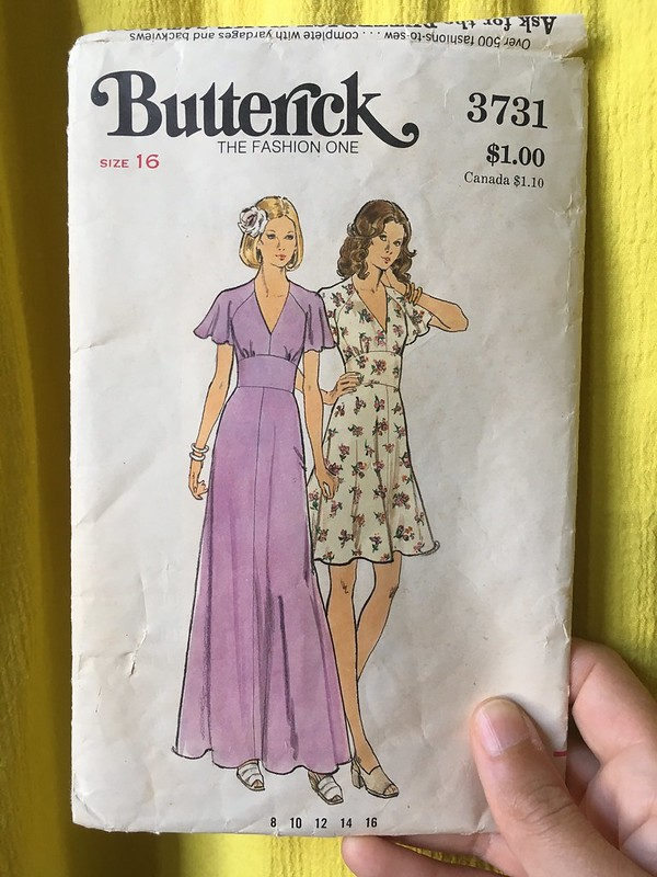 Vintage Butterick 3731