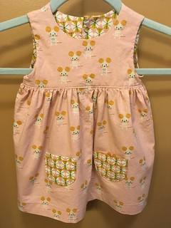 Maggie's Geranium Dress