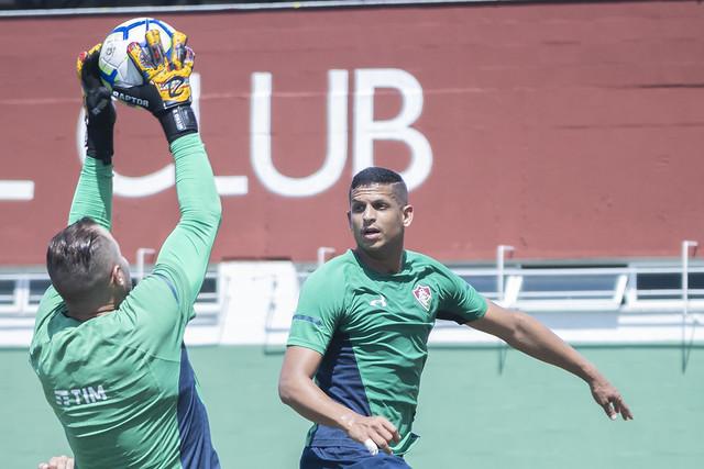 Treino do Fluminense - 12/09/2019