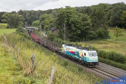 186 252 . LNS . 44525 . Aachen- Gemmenichertunnel  . 12.09.19.
