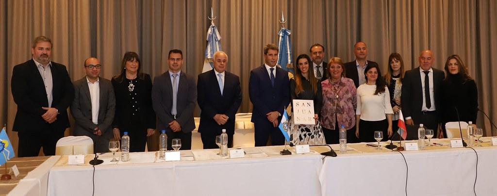 2019-09-12 PRENSA: Uñac encabezó el primer encuentro del CONFEDRO en San Juan