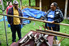 Making wild rice harvesting tools. Wild Rice Initiative