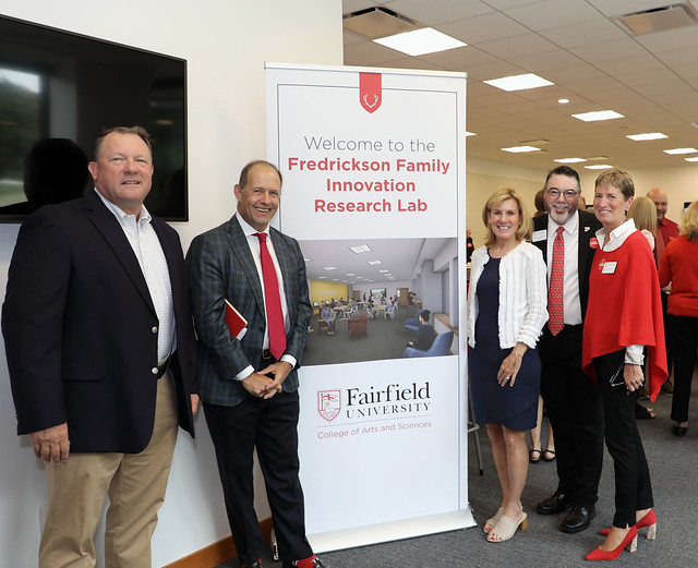 Fredrickson Family Innovation Lab Dedication