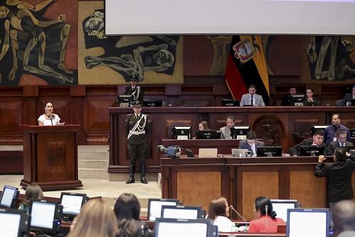 CONTINUACIÓN DE LA SESIÓN NO. 492 DEL PLENO DE LA ASAMBLEA NACIONAL,  QUITO, 12 DE SEPTIEMBRE DEL 2019.