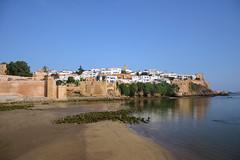Rives de l'Oued Abou Regreg et la Kasbah des Oudaïas... Rabat - Maroc 🇲🇦