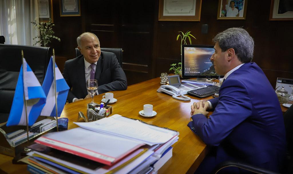 2019-09-12 PRENSA: Sergio Uñac recibió al ministro de la Corte Suprema de Justicia de la Nación