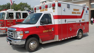 Akron Fire Department Medic 4 Wheeled Coach Ford E350 | by Seluryar