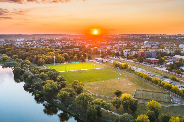 Stadium | Kaunas aerial #254/365
