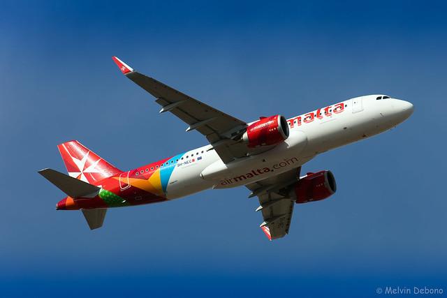 Air Malta Airbus A320-251N     9H-NEC     LMML