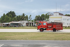 Firetruck on the Runway