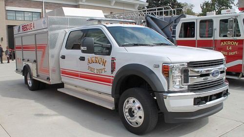 Akron Fire Department Rescue 4 Ford F-550 | by Seluryar