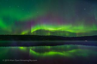 Aurora Reflections at Madeline Lake #5